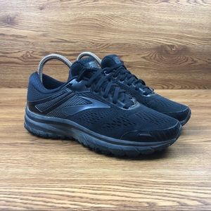 Brooks Adrenaline GTS 18 Black Road Running Shoes